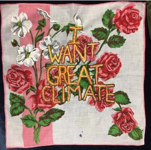 """I Want Great Climate"" by Diana Weymar"