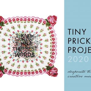 2020 Tiny Pricks Project Calendar