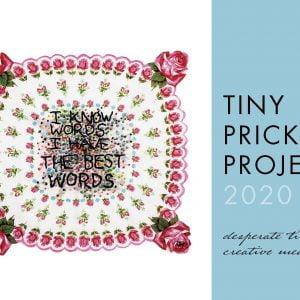2020 Tiny Pricks Project Calendar